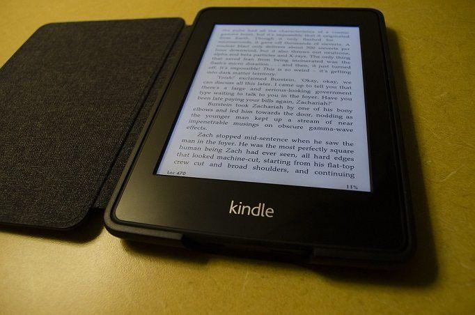 Amazon Kindle eBook tablet