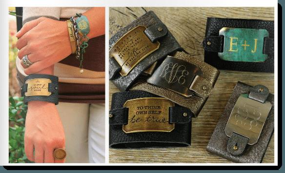 Unusual bracelet style