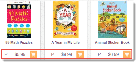 Prices of Books
