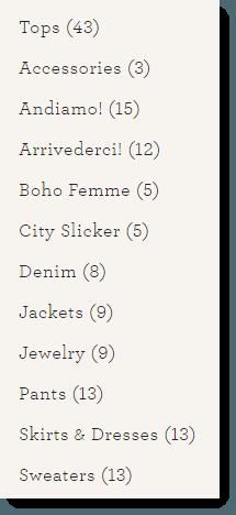 CAbi Categories