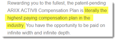 Highest Paying Plan
