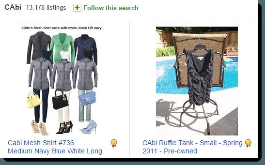 Listings on eBay