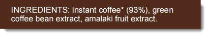 High Performance Coffee Ingredients