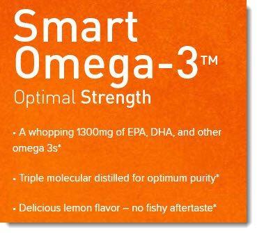 Smart Omega-3 Label
