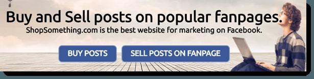 Selling posts on ShopSomething