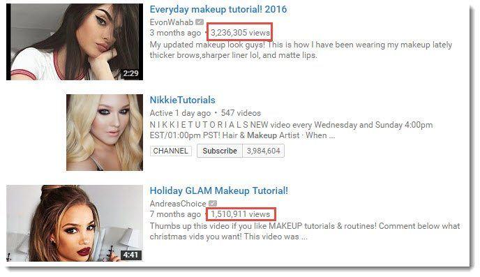 Make Money Makeup Videos