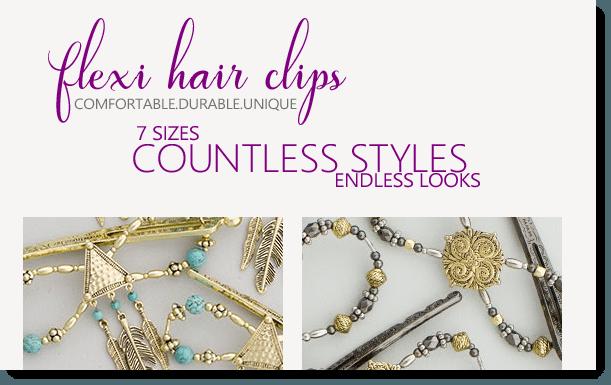 Lilla Rose Flexi Hair Clips
