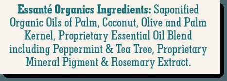 Essanté Organics Ingredients Reviewed
