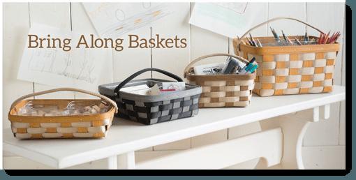 Longberger Bring Along Baskets