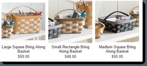 Longaberger Basket Pricing