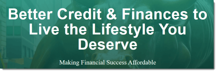 Making Financial Success Affordable