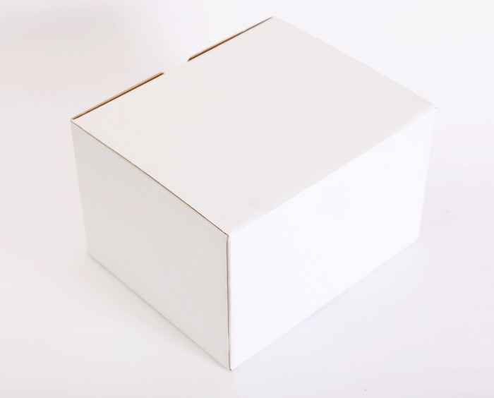 white box with no label aka white label products