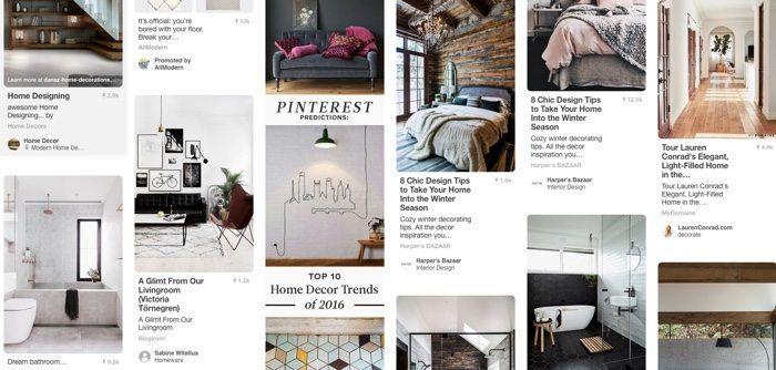 Pinterest interior design