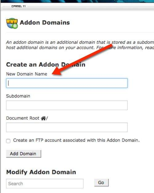 cpanel-domain-create