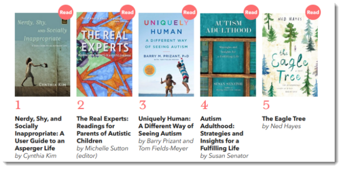 Books on Autism Reviewed