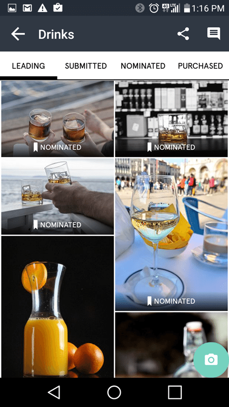 Snapwire Leading Images Example