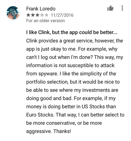 Clink Review 2