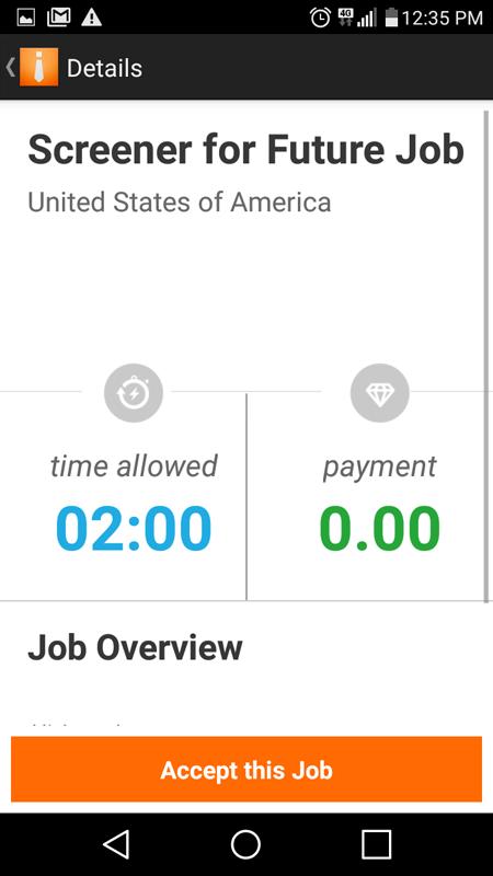 Field Agent Job Details