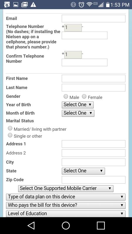 Nielsen Registration