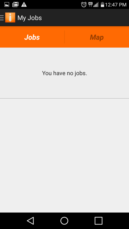 No Jobs Available