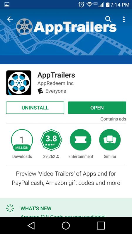 AppTrailers Basics