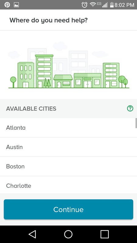 Available Cities In TaskRabbit