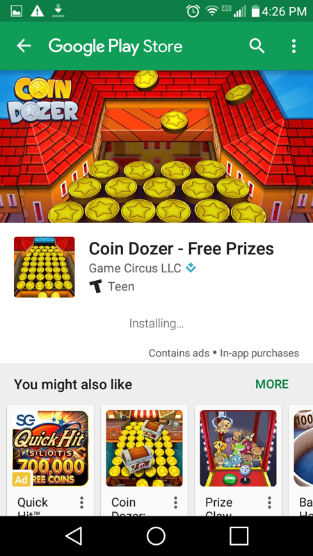 I Played Coin Dozer To Try To Earn More Credits