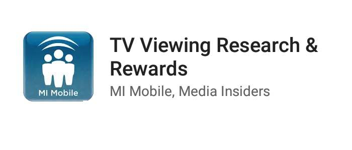 Make Money MI Mobile TV Viewing Research and Rewards App