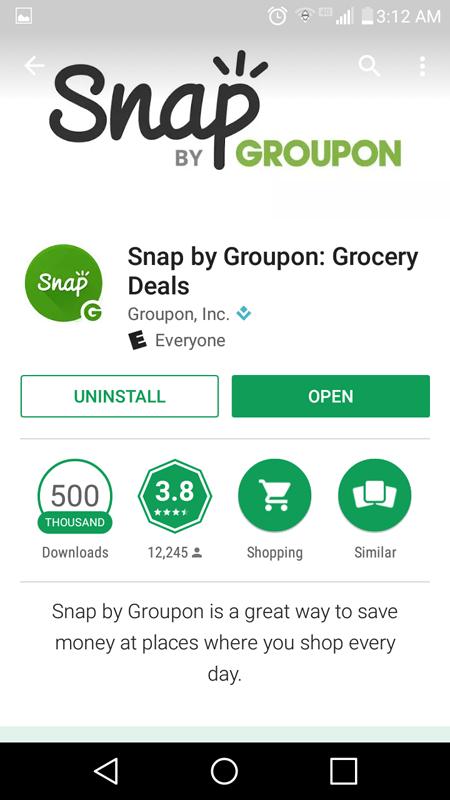 Snap By Groupon Basics