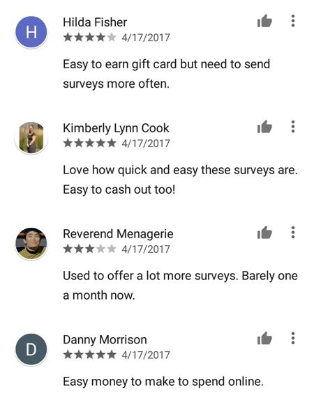 Surveys On The Go Reviews