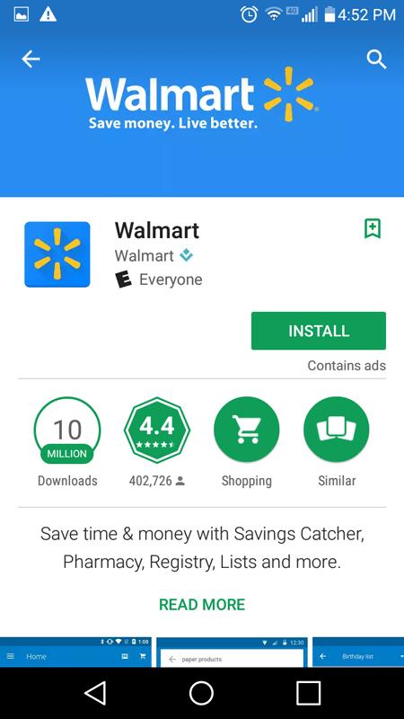 Walmart Savings Catcher Basics