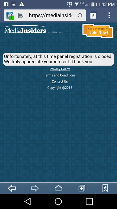 We Were Unable To Register With The App