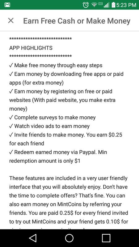 App Highlights For MintCoins