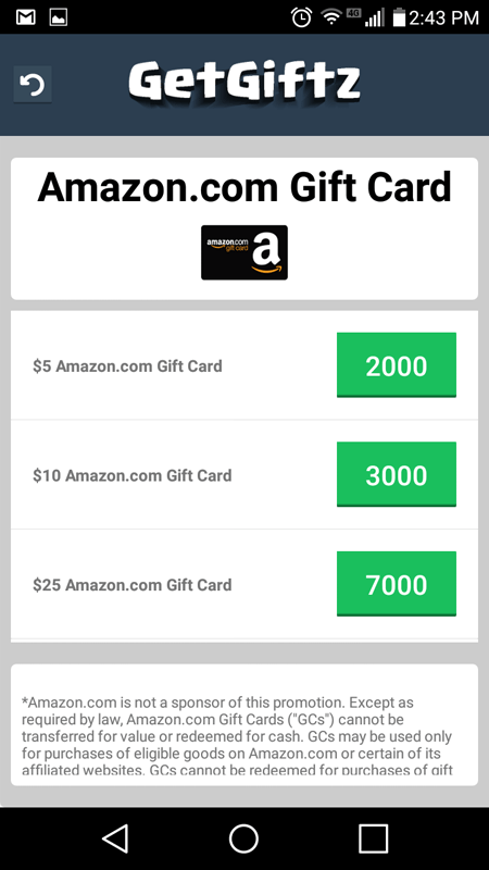 GetGiftz Conversion Rate