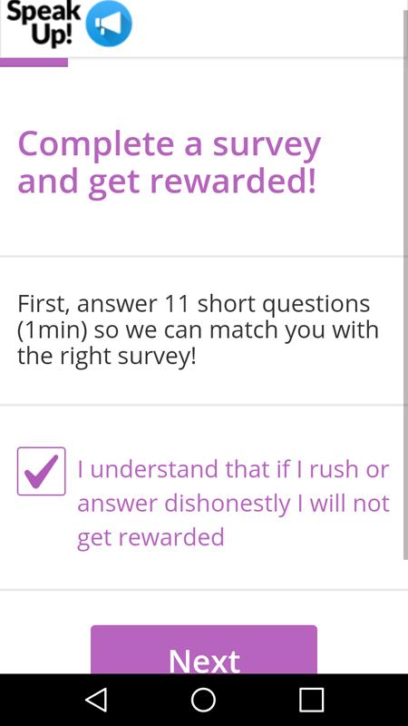 Getting Ready To Take A Survey