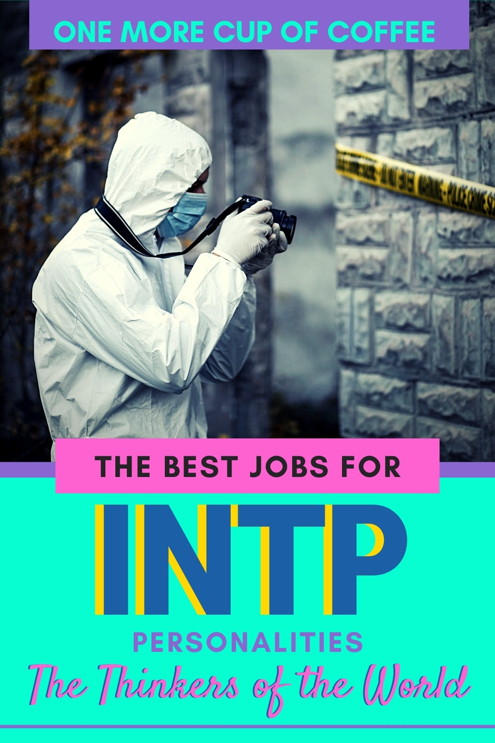 Forensic expert working a crime scene to represent jobs for ISTP personality types.