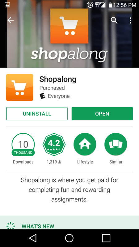Shopalong Basic Info
