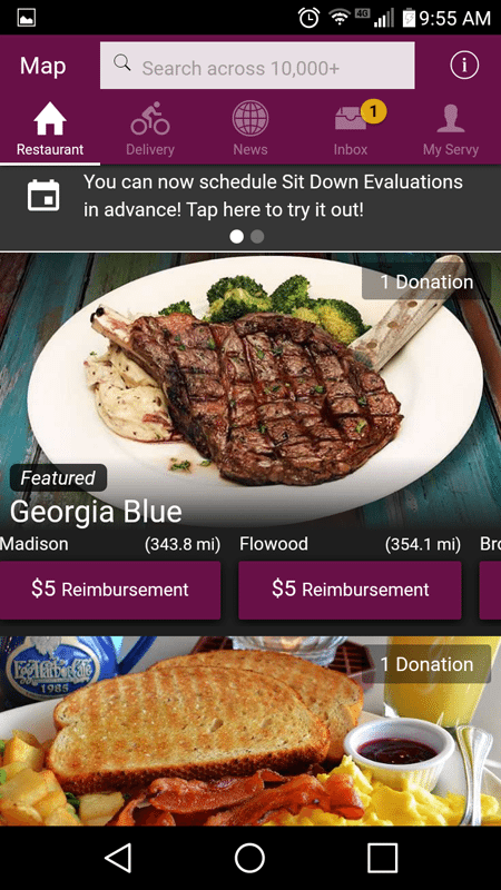 The Hub Of The Servy App