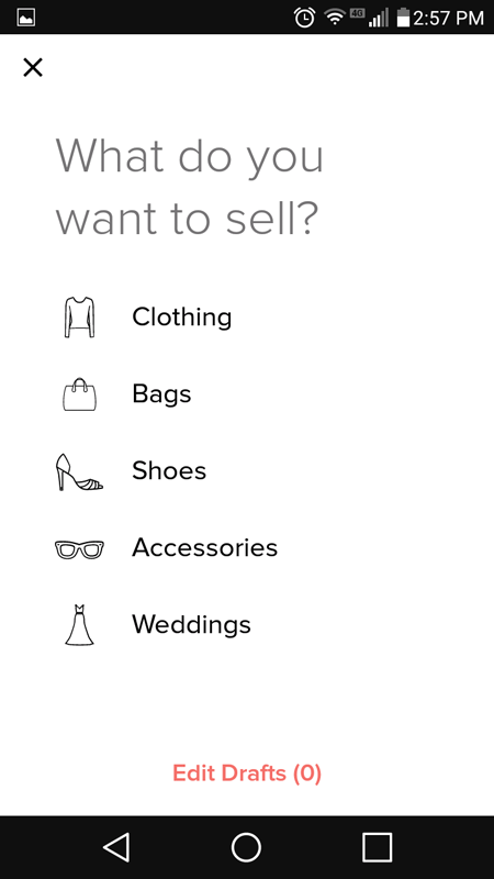 What Do You Want To Sell
