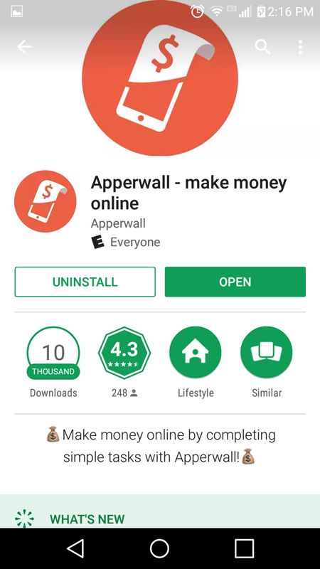 Apperwall Basic Information