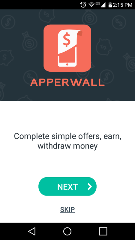 Apperwall Introductory Page