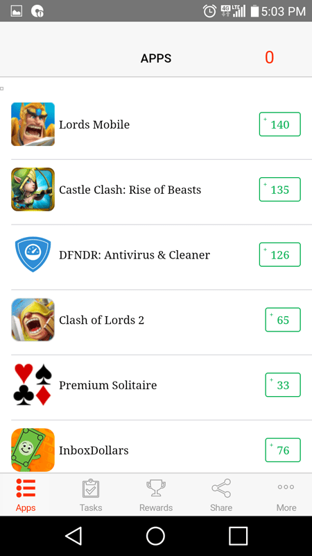 Cash For Apps Offers