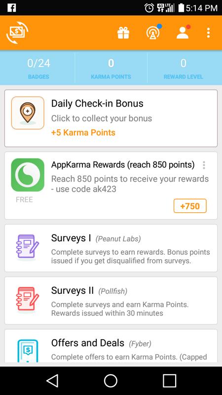 CashKarma Main Hub