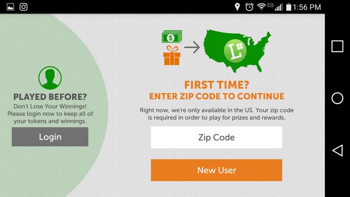 Filling In My Zip Code