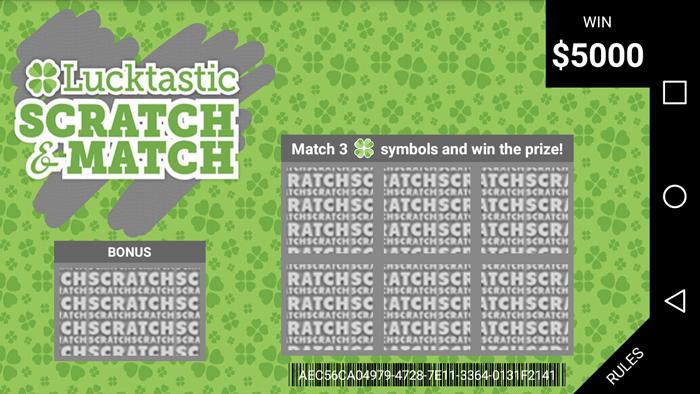 Lucktastic Scratcher