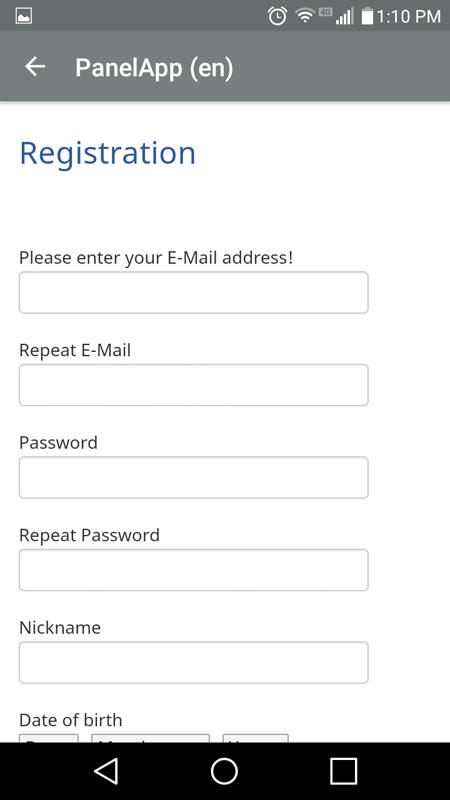 Mobrog Registration Process