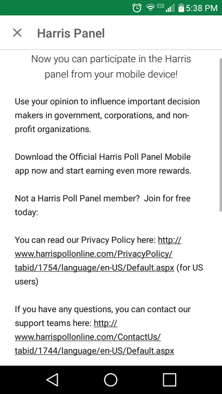 The Harris Panel App Read More