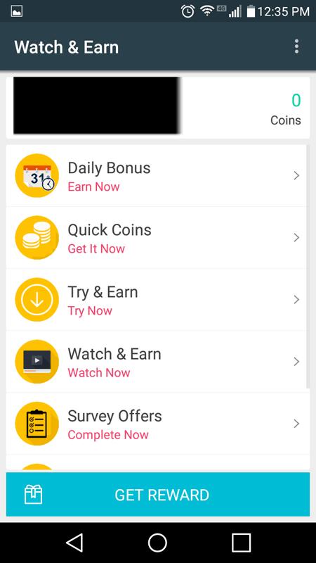 Watch And Earn Main Hub