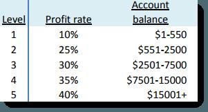 Balance and profit