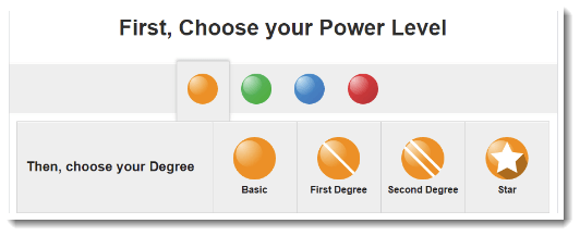 Choose Your Power Level